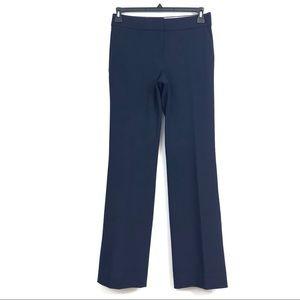 J. CREW Edie pants Womens size 4 navy blue NWT